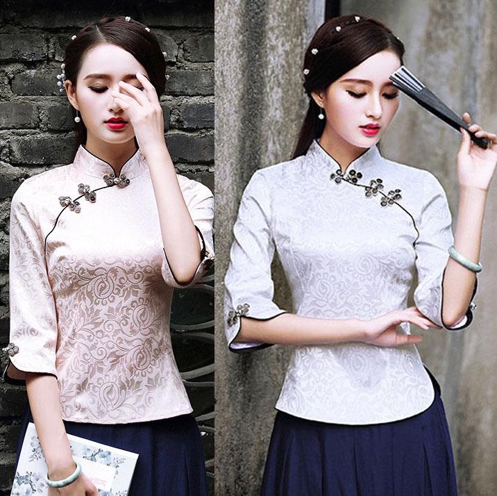 e0b08a051822e 楽天市場  Romance衣装 上質 メール便1枚送料無料 チャイナトップス ...