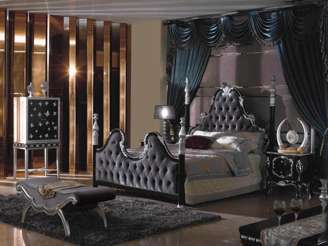 輸入家具・高級クラシックベッド YL-5610