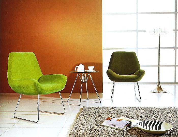 椅子・輸入家具・リラックスィング椅子