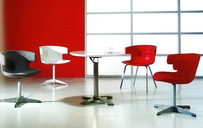 輸入家具・ユニークデザインチェア・椅子/白