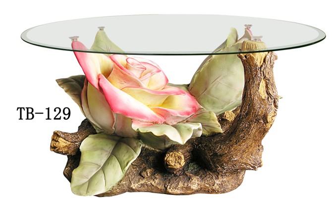 【輸入家具】バラのローテーブル