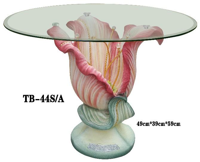 【輸入家具】・高級花ローテーブル