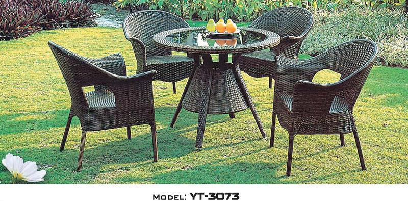 新しいブランド ~~3/22まで延長! 更にお値引き可能!お問い合わせください!リゾート・ガーデン・エクステリア家具・テーブルセット(屋内用)YT-3073:輸入家具のローマンディール-エクステリア・ガーデンファニチャー