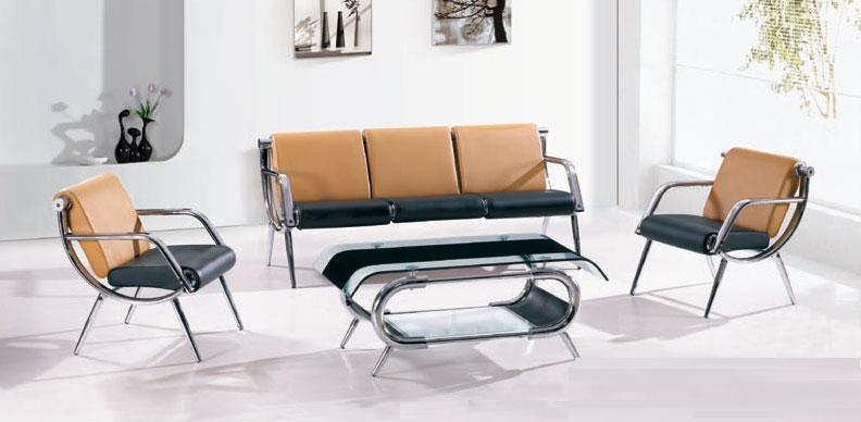 【輸入家具】応接ソファー・デザインソファー3点セット