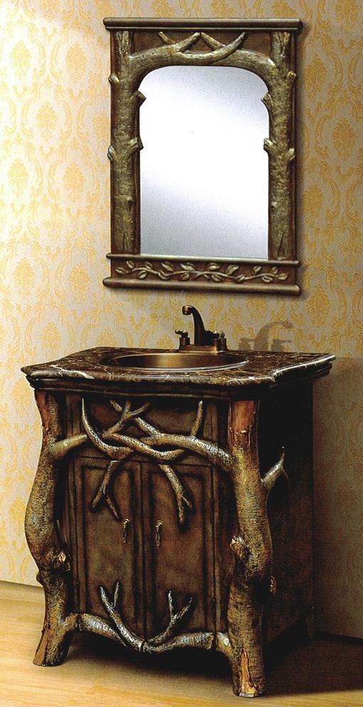 【輸入家具】洗面化粧台