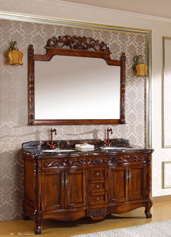 クラシック調洗面化粧台(幅:1545mm)