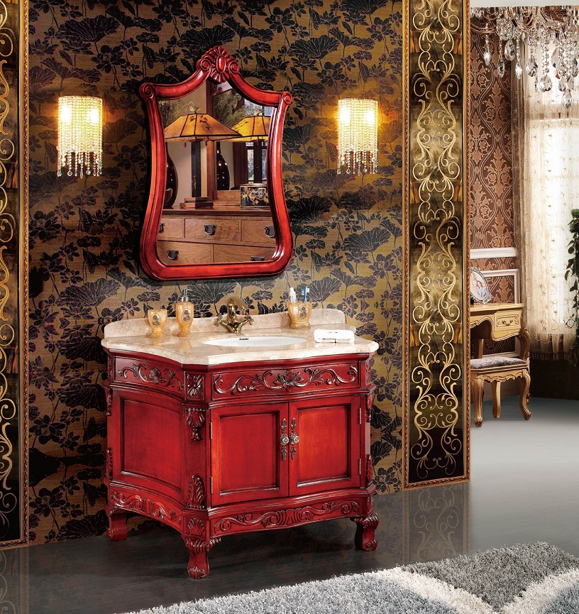 クラシック調洗面化粧台(幅:1190mm)