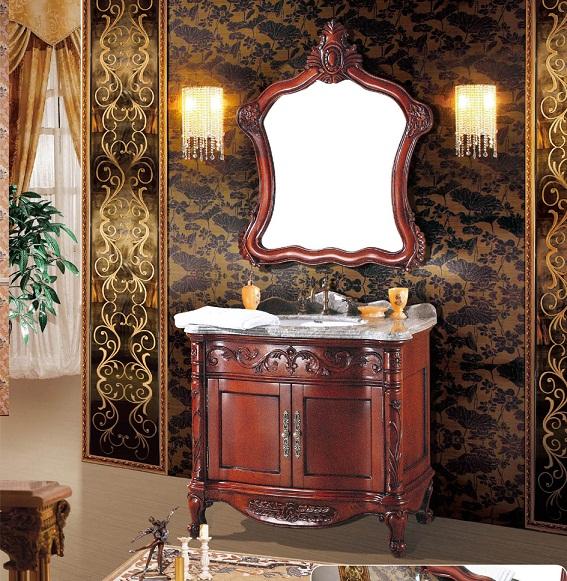 買い誠実 ~~3/22まで延長! 更にお値引き可能!お問い合わせください!クラシック調洗面化粧台(幅:1000mm):輸入家具のローマンディール-木材・建築資材・設備