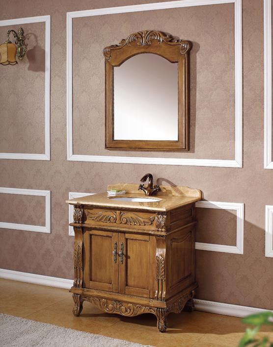 家具調洗面化粧台(幅:760mm)