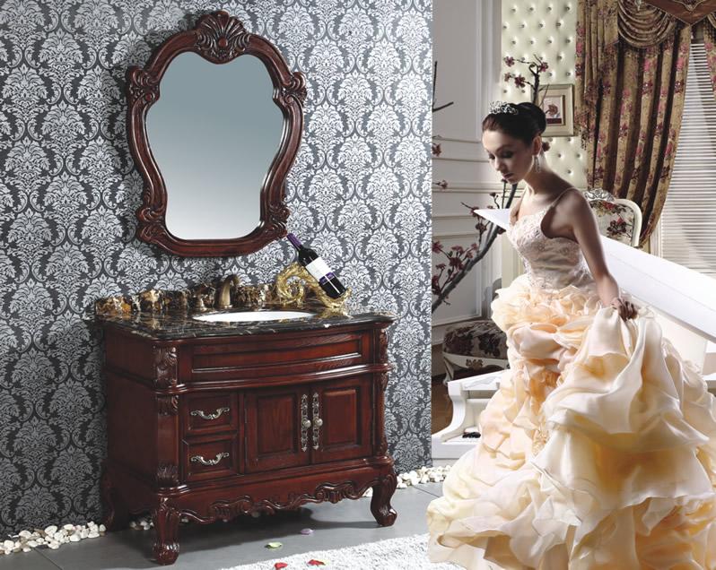 人気の 更にお値引き可能!お問い合わせください!ロココ家具調・高級洗面化粧台(幅:1000mm):輸入家具のローマンディール ~~3/22まで延長!-木材・建築資材・設備