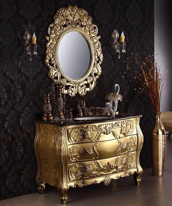 Luxury Bathroom Vanity Units romandeal | rakuten global market: rococo furniture, luxury