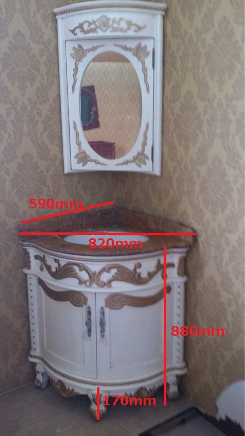 クラシック調洗面化粧台(幅:820mm)