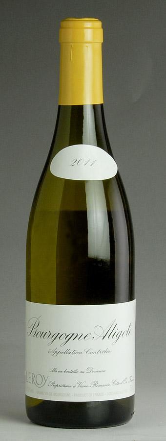 [2011] ブルゴーニュ アリゴテ 【正規品】ドメーヌ ルロワ Bourgogne AligoteDomaine Leroy