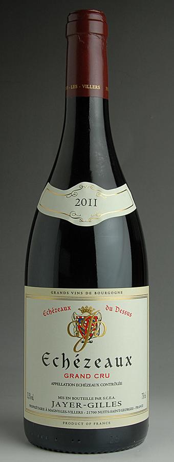 [2011] エシェゾー デュ・ドゥシュ 1本ジャイエ・ジル 750mlEchezeaux de Dessus Jayer Gilles