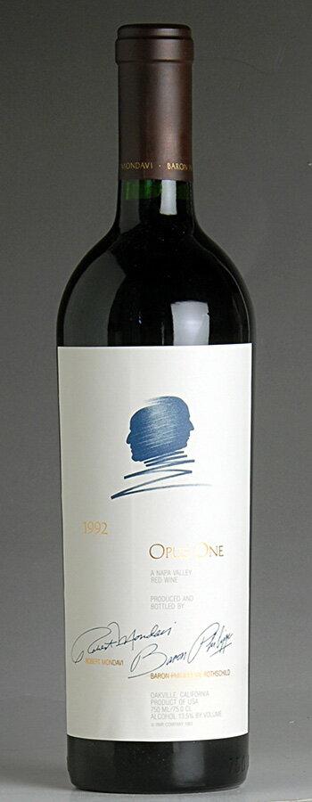 [1992] オーパス・ワンオーパス・ワン(アメリカ カリフォルニア 赤ワイン)