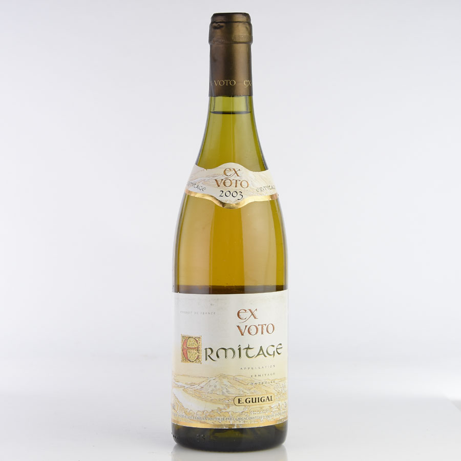 [2003] ギガル エルミタージュ ブラン エクス・ヴォトフランス / ローヌ / 白ワイン[のこり1本]