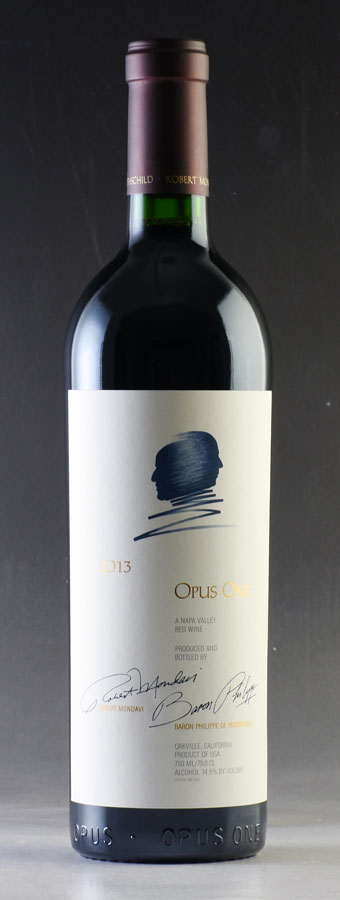 [2013] オーパス・ワン【オーパスワン】アメリカ / カリフォルニア / 赤ワイン