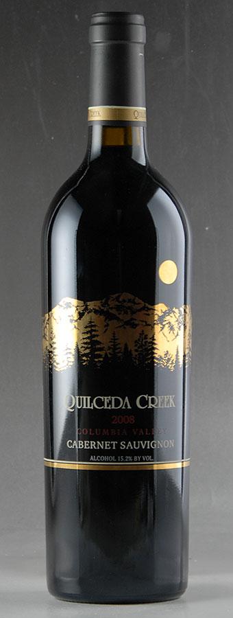 [2008] クィルシーダ・クリーク カベルネ・ソーヴィニヨンアメリカ / ワシントン / 赤ワイン