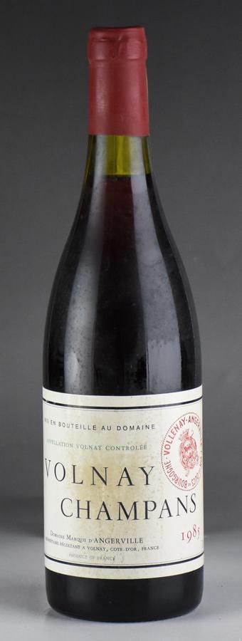 [1985] マルキ・ダンジェルヴィーユ ヴォルネイ・レ・シャンパン ※ラベル汚れありフランス / ブルゴーニュ / 赤ワイン[outlet]