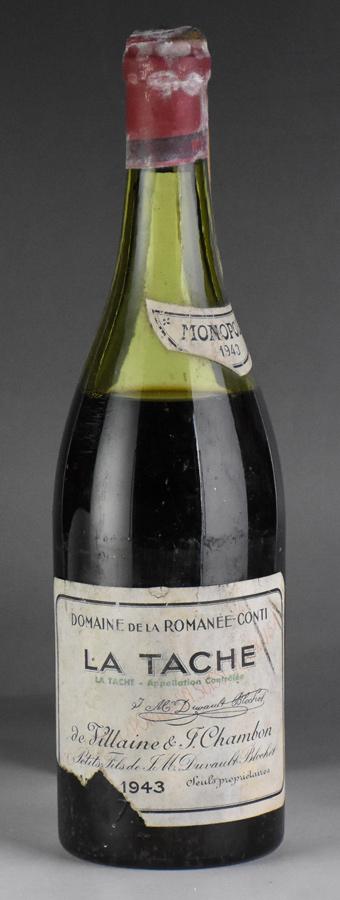 [1943] ドメーヌ・ド・ラ・ロマネ・コンティ DRC ラ・ターシュフランス / ブルゴーニュ / 赤ワイン