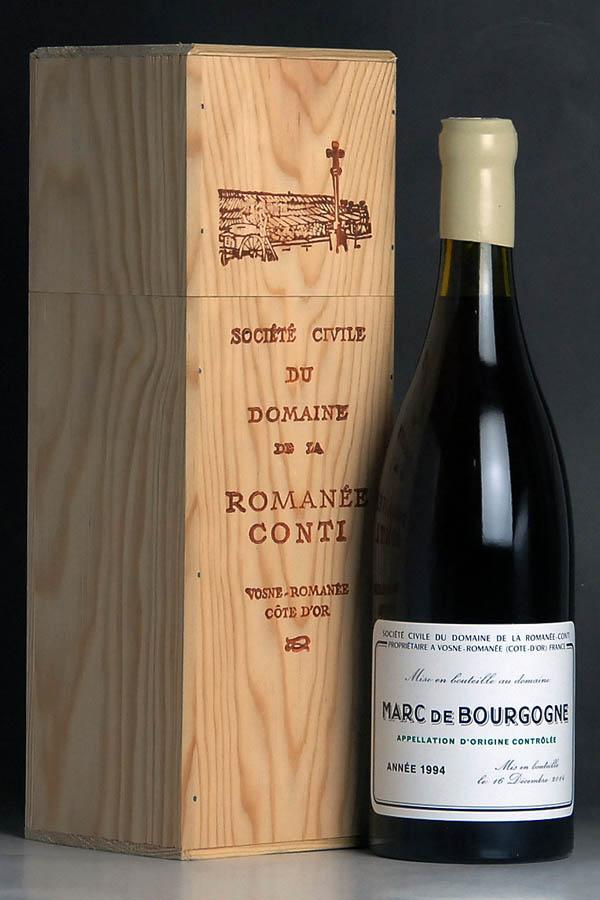 [1994] マール・ド・ブルゴーニュ 750ml 【自社輸入】ドメーヌ・ド・ラ・ロマネ・コンティ【DRC】Domaine de la Romanee-Conti Marc de Bourgogneフランス / ブランデー
