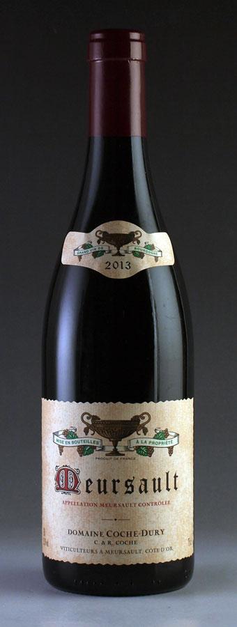 [2013] ムルソー・ルージュ【赤】 コシュ・デュリMeursault Rouge Coche Dury 750ml[自社輸入]フランス / ブルゴーニュ / 赤ワイン