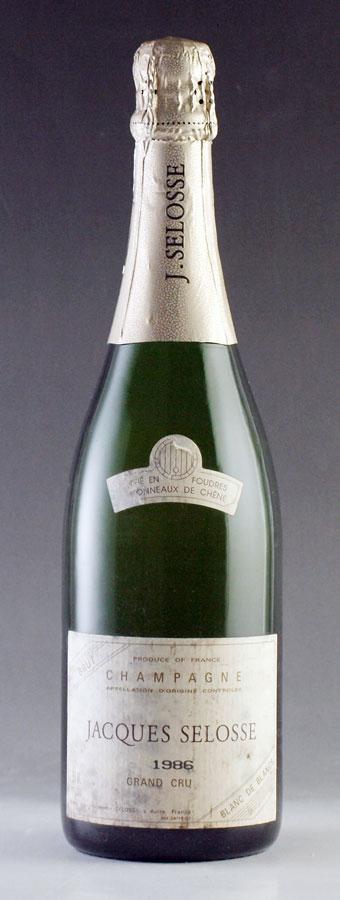 【送料無料】 [1986] ジャック・セロス ミレジム 750mlJacques Selosse Millesime[自社輸入]フランス / シャンパーニュ / 発泡・シャンパン