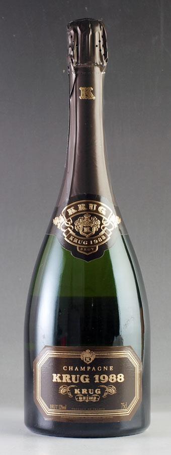 [1988] クリュッグ ヴィンテージ 【箱なし】 Krug Vintage 750mlフランス / シャンパーニュ / 発泡・シャンパン