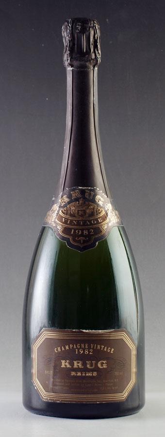 [1982] クリュッグ ヴィンテージ Krug Vintage 750mlフランス / シャンパーニュ / 発泡・シャンパン