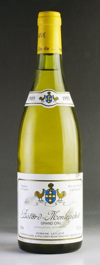 【送料無料】 [1985] ドメーヌ・ルフレーヴバタール・モンラッシェフランス / ブルゴーニュ / 白ワイン