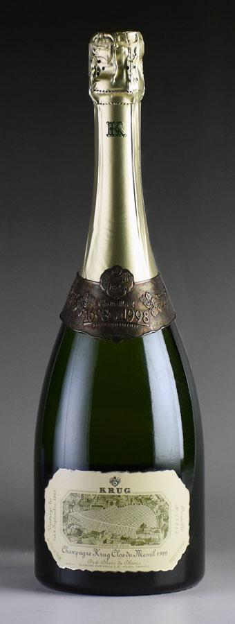[1989] クリュッグ クロ・デュ・メニルフランス / シャンパーニュ / 発泡・シャンパン