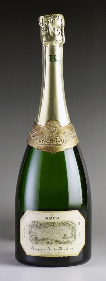 [1983] クリュッグ クロ・デュ・メニルフランス / シャンパーニュ / 発泡・シャンパン