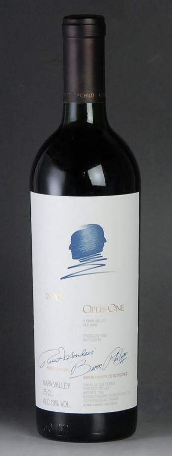 【送料無料】 [1990] オーパス・ワンアメリカ / カリフォルニア / 赤ワイン