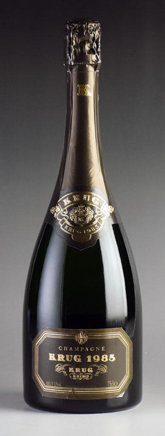 [1985] クリュッグ ヴィンテージ 箱なしフランス / シャンパーニュ / 発泡・シャンパン