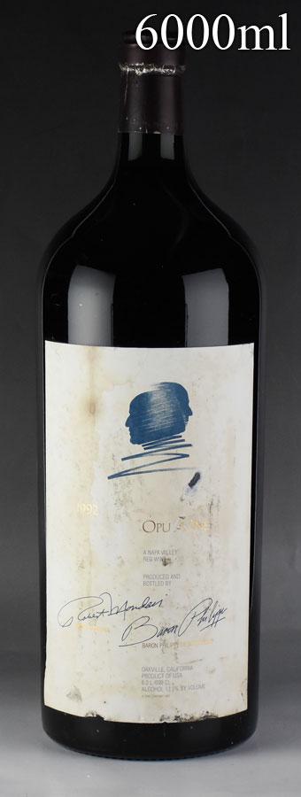 [1992] オーパス・ワン【オーパスワン】 6000ml ※ラベル不良アメリカ / カリフォルニア / 赤ワイン