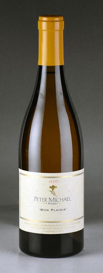 [2000] ピーター・マイケル シャルドネ モン・プレジールアメリカ / カリフォルニア / 白ワイン