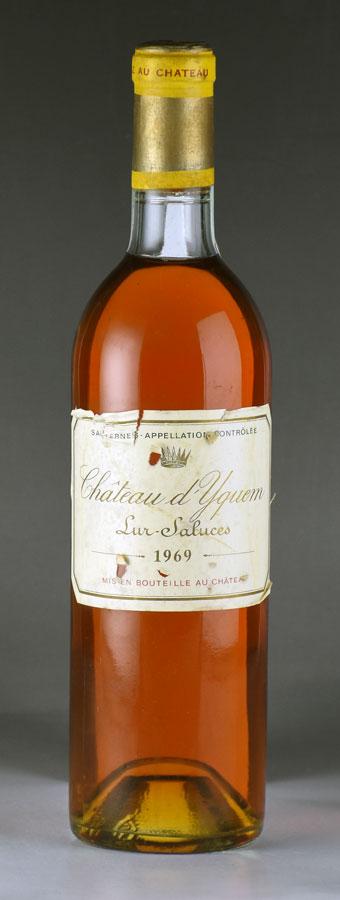 [1969] シャトー・ディケム ※ラベル破れフランス / ボルドー / 白ワイン