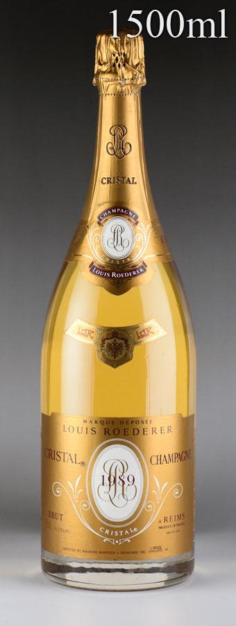 [1989] ルイ・ロデレール クリスタル マグナム 1500mlフランス / シャンパーニュ / 発泡・シャンパン