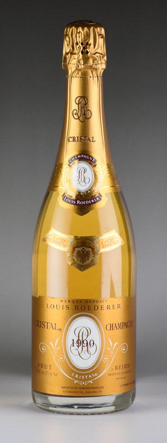 [1990] ルイ・ロデレール クリスタルフランス / シャンパーニュ / 発泡・シャンパン