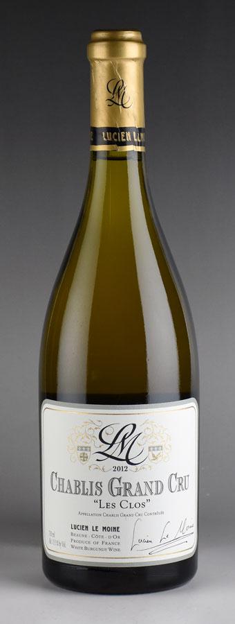 [2012] ルシアン・ル・モワンヌ シャブリ レ・クロフランス / ブルゴーニュ / 白ワイン