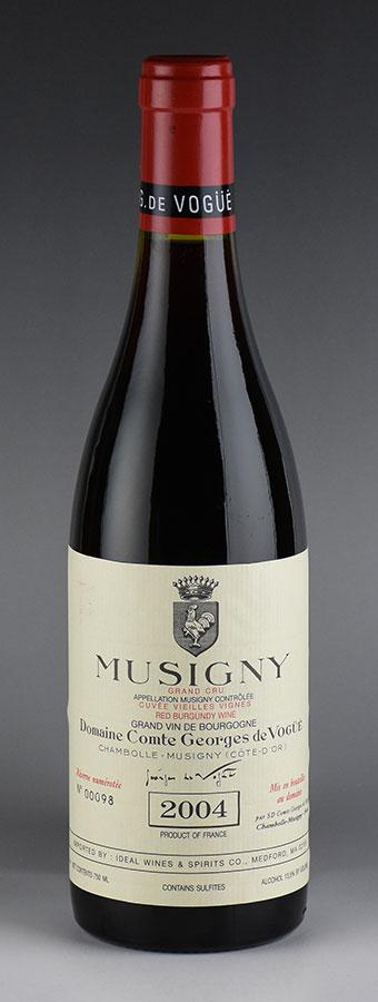 [2004] ヴォギュエ ミュジニー ヴィエイユ・ヴィーニュフランス / ブルゴーニュ / 赤ワイン
