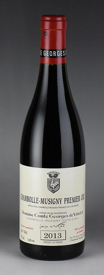 [2013] ヴォギュエ シャンボール・ミュジニー プルミエ・クリュフランス / ブルゴーニュ / 赤ワイン