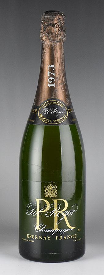[1973] ポル・ロジェ レゼルヴ・スペシャルフランス / シャンパーニュ / 発泡・シャンパン