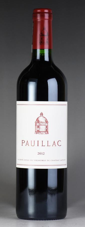 [2012] ポイヤック・ド・ラトゥールフランス / ボルドー / 赤ワイン