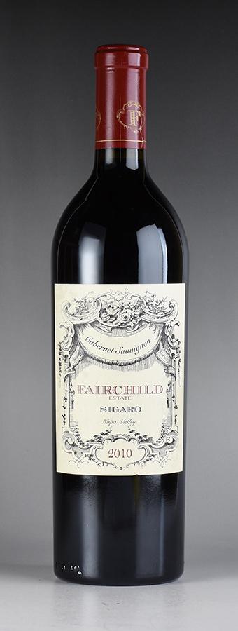 [2010] フェアチャイルド シガロ カベルネ・ソーヴィニヨンアメリカ / カリフォルニア / 赤ワイン[のこり1本]