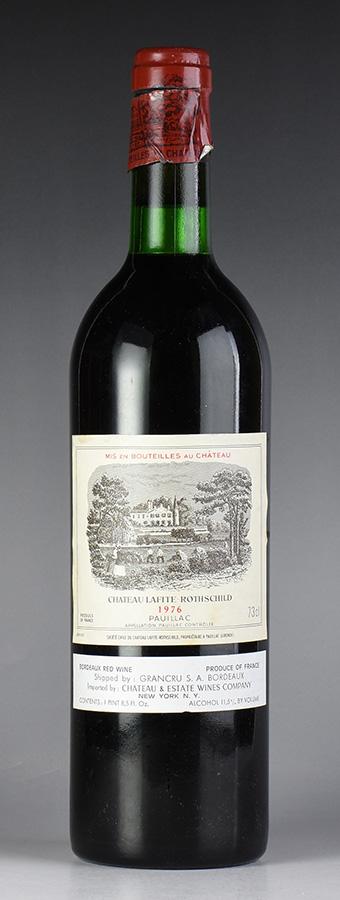 [1976] シャトー・ラフィット・ロートシルト ※ラベル汚れ、キャップシール破損ありフランス / ボルドー / 赤ワイン