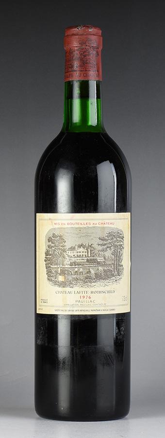 [1976] シャトー・ラフィット・ロートシルト ※ラベル汚れ、キャップシール腐食ありフランス / ボルドー / 赤ワイン