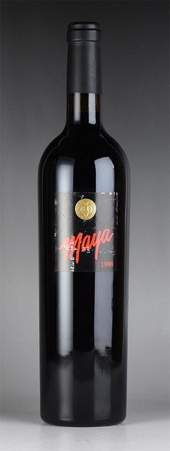 【現金特価】 [1998] [1998] ダラ・ヴァレ/ 赤ワイン マヤ ※ラベル擦れありアメリカ/ カリフォルニア/ 赤ワイン, ササヤマシ:e16f6902 --- konecti.dominiotemporario.com