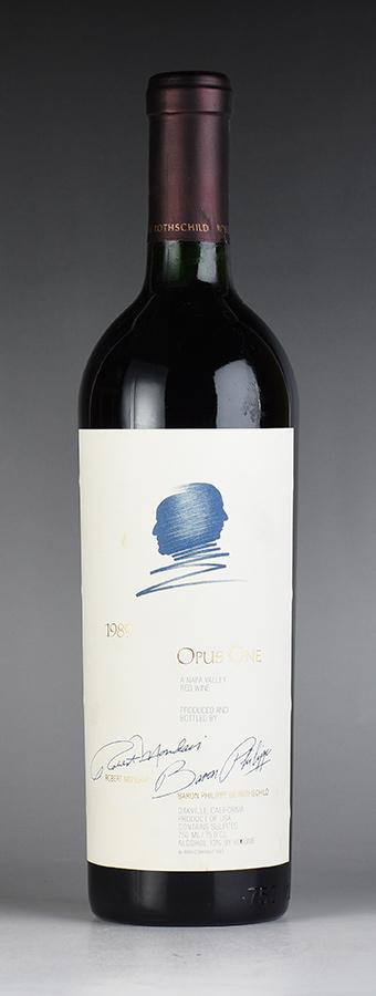 【送料無料】 [1989] オーパス・ワン ※液漏れ、コルク下がり、ラベル汚れありアメリカ / カリフォルニア / 赤ワイン