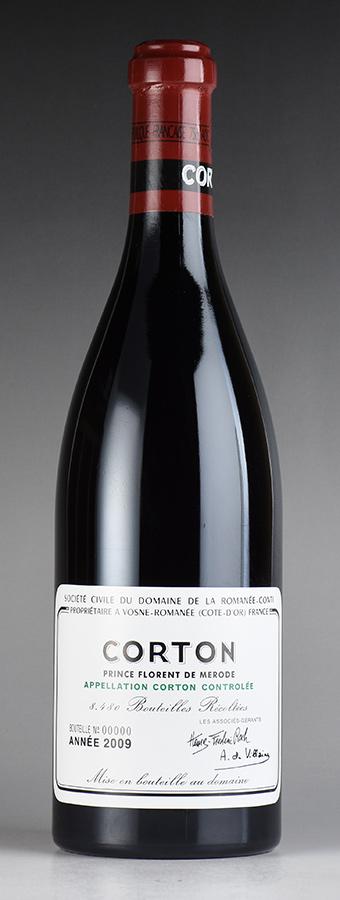 [2009] ドメーヌ・ド・ラ・ロマネ・コンティ DRC コルトンフランス / ブルゴーニュ / 赤ワイン